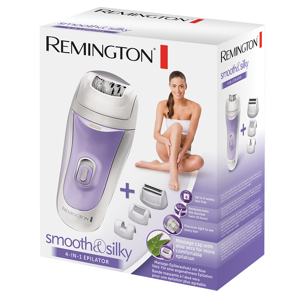 Remington EP7020 Smooth   Silky 4 in 1 Epilator  f3fc53078d