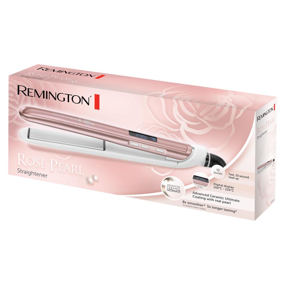Rose Pearl Hair Straightener | Remington